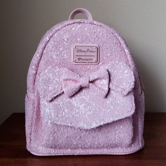 c392c729f68 Disney Parks + Loungefly Millennial Pink Backpack